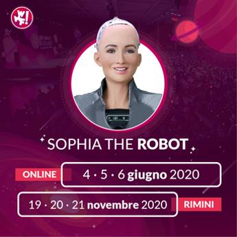 Il Web Marketing Festival accoglie Sophia, il robot umanoide più avanzato al mondo