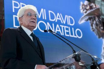 Mattarella: Cinema arte del sogno aiuterà a ricostruire il Paese