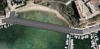 Mareamico: A Lampedusa vogliono realizzare un ponte in un'area vincolata