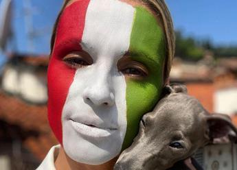 Michelle Hunziker tricolore: Sono l'unica svizzera che ha fatto il pieno in Italia