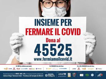 Rai e Mediaset sostengono in tv campagna per fermare il Covid