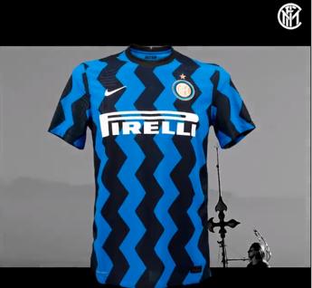 Inter, ecco la nuova maglia a zig-zag