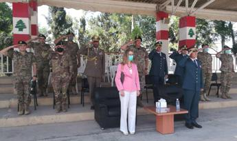 Italy gives Lebanese army €500,000 of risk equipment