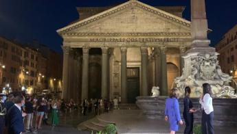 Roma, Comune e Acea inaugurano nuova illuminazione Pantheon