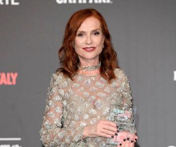 Isabelle Huppert vince il Filming Italy Woman Power Award