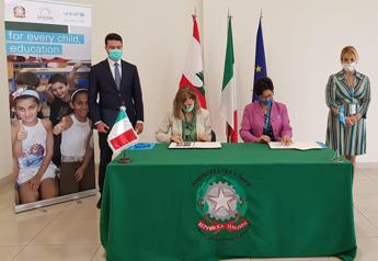 Italy signs €2mn agreement with UNICEF in Lebanon