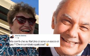 Alberto Salerno, marito di Mara Maionchi, e i gay su Rai 1
