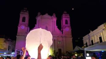'La Notte delle Luci' a Terrasini, un omaggio alla 'Nuova Iside