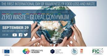 Giornata contro lo spreco alimentare, arriva la maratona virtuale