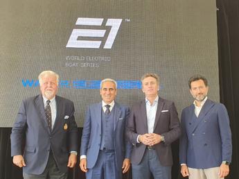 Chiulli e Agag presentano primo Mondiale elettrico di Motonautica
