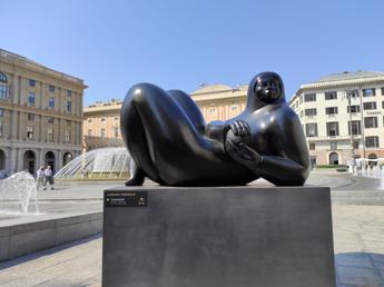 A Genova, le sculture di Jiménez Deredia in città