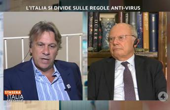 Galli contro Porro, lite in tv. E interviene Bassetti