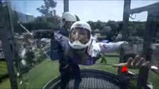 Indoor Skydiving, volare da soli ai tempi del Covid