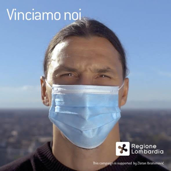 Coronavirus, Ibrahimovic: ''Tu non sei Zlatan, non sfidare il virus''
