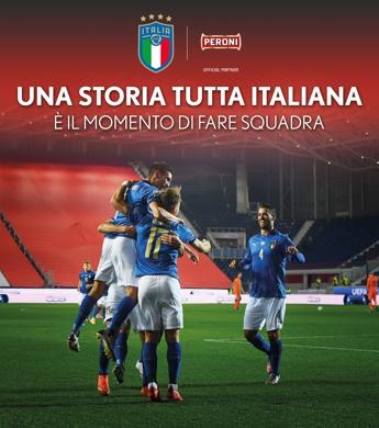 Peroni torna a sponsorizzare la Nazionale italiana di calcio
