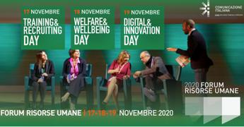 Al via Forum risorse umane 2020, tre giorni di 'maratona digitale'