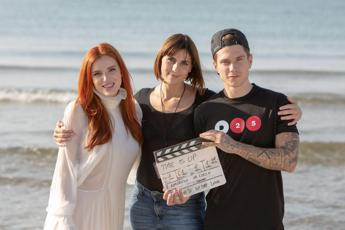 Bella Thorne e Benji sul set di 'Time is up' di Elisa Amoruso