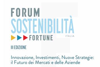 Da energia a finanza, a Forum Sostenibilità di Fortune Italia tutti i nuovi scenari