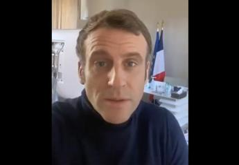 Macron positivo al covid, come sta: il video del presidente