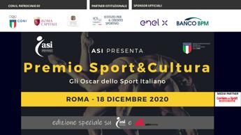 Venerdì 18 dicembre 15esima edizione Premio Asi Sport&Cultura