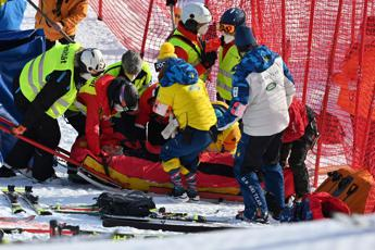 Tommy Ford, caduta spaventosa a Adelboden: come sta