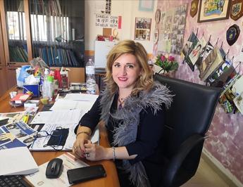 """Palermo, la prima preside vaccinata: """"Oggi è una bella giornata"""""""