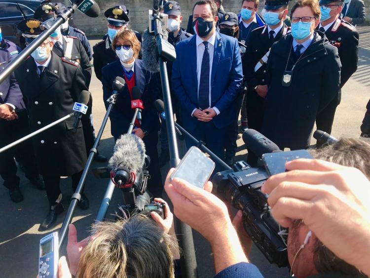 Gregoretti, Matteo Salvini: