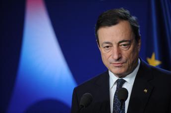 Bce: spread Italia in forte calo con governo Draghi