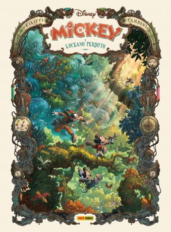 Nuova collana graphic novel di Panini Comics sui personaggi Disney