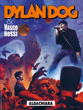'Albachiara' di Vasco Rossi ora è un fumetto con protagonista Dylan Dog