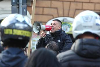 No Green Pass: a Roma fermato Castellino, leader Forza Nuova